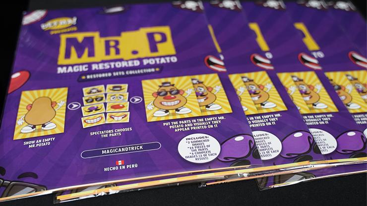Mr. P / Magic Restored Potato (standard/pirate) By Magic And Trick By Defma - Trick