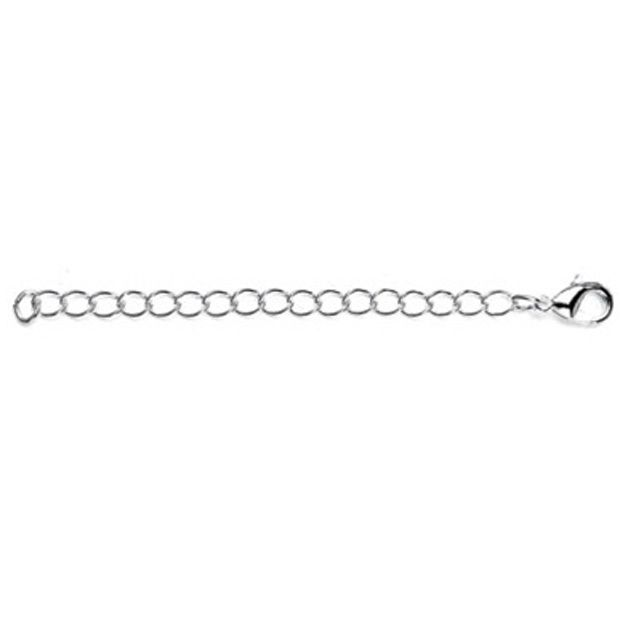 Chain Necklace Extender With Lobster Clasp