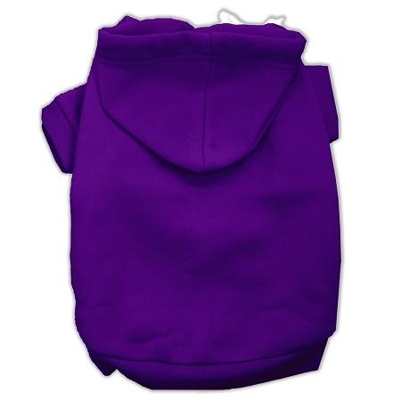 Blank Pet Hoodies Purple Size m