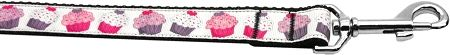 Pink And Purple Cupcakes 1 Inch Wide 6ft Long Leash