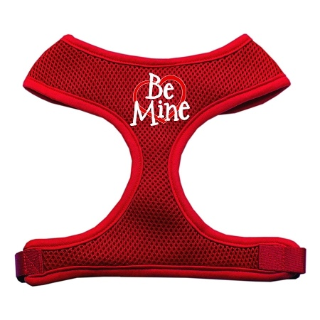 Be Mine Soft Mesh Pet Harness Red Large
