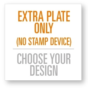 Extra Stamp Plate For The 4545 Stamping Device