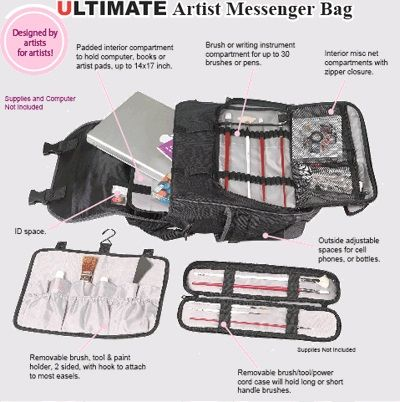 Just Stow-It® Ultimate Messenger Bag