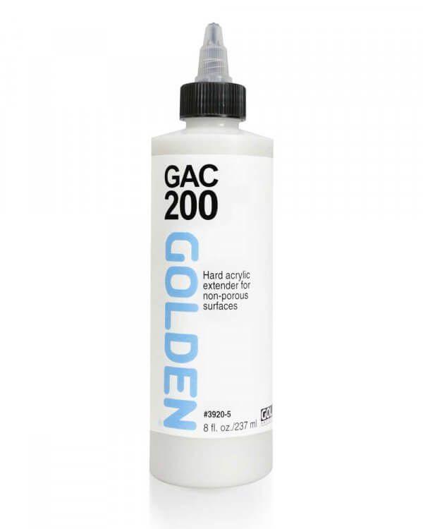Gac 200 Acrylic Polymer 8 Fl Oz