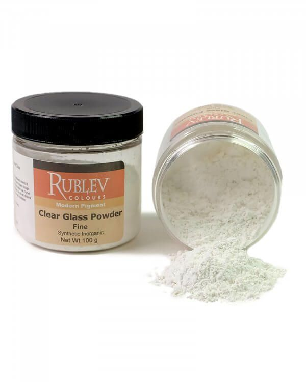 Glass Powder, Clear - Fine