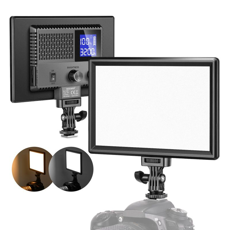 Neewer Sl-116ai Led Video Light With Built-in Rechargeable Battery