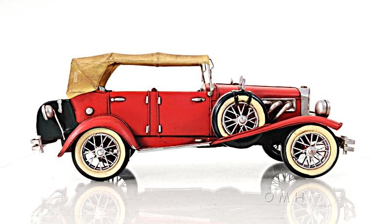 1933 Red Duesenberg J 1:12