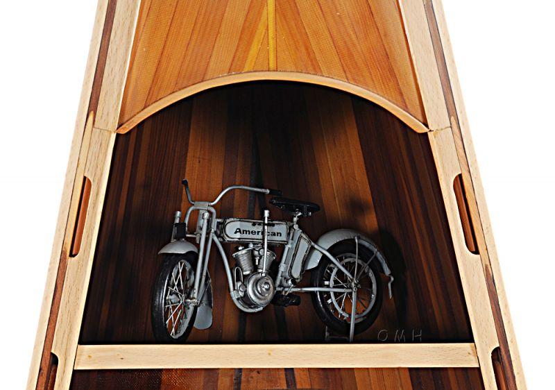 Wooden Canoe Book Shelf