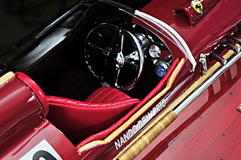 Ferrari Hydroplane Half Hull