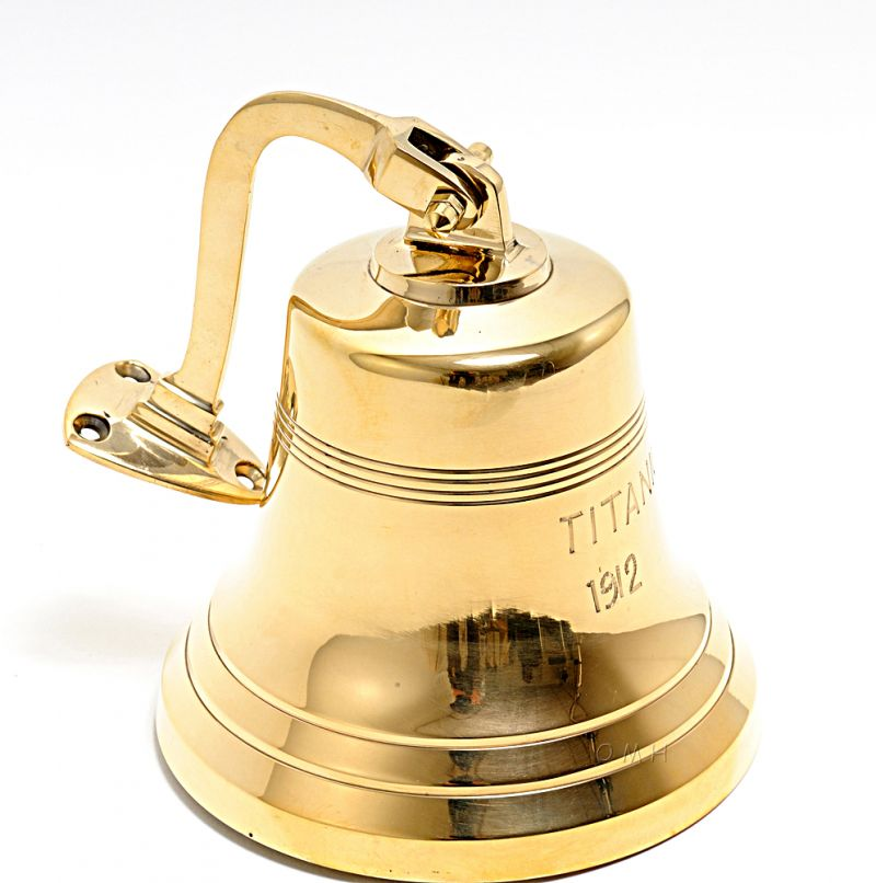 Titanic Ship Bell - 8 Inches