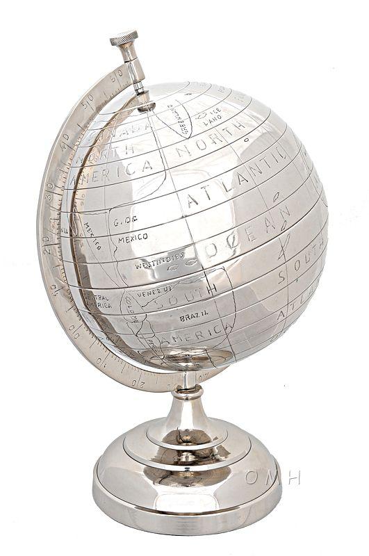 Alum Globe 13 Inches