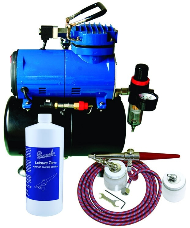 Paasche STS-1S Salon Tanning Set with Air Compressor