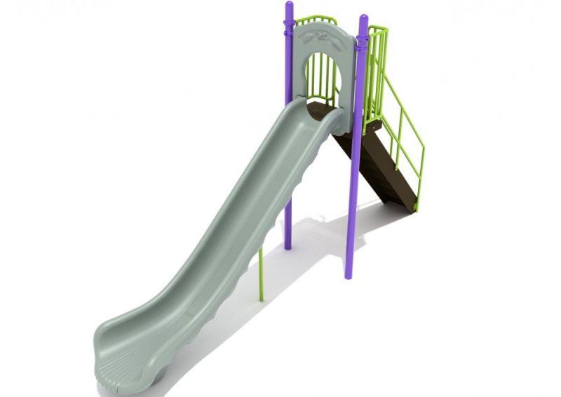 6 Foot Single Straight Slide