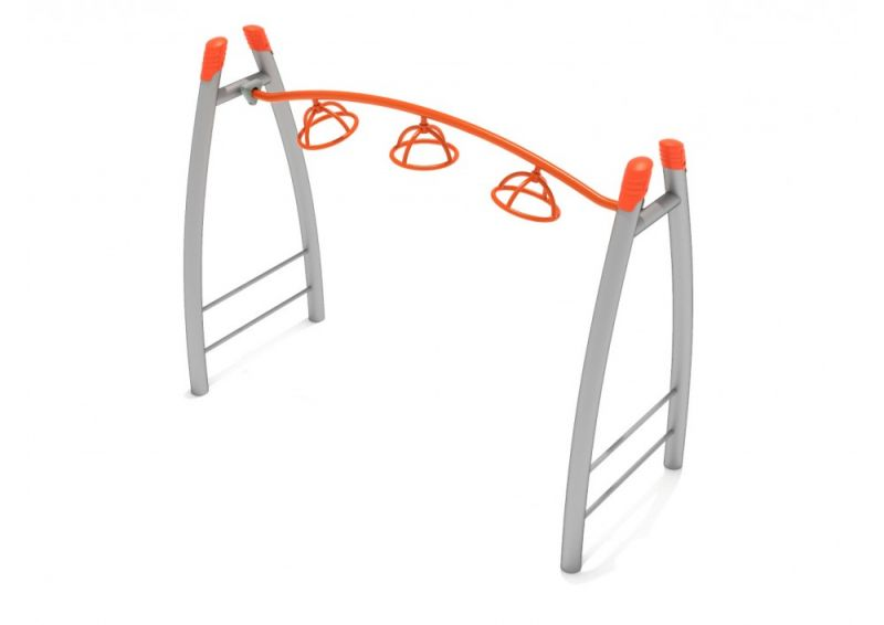 Curved Post 3-wheel Overhead Spinner