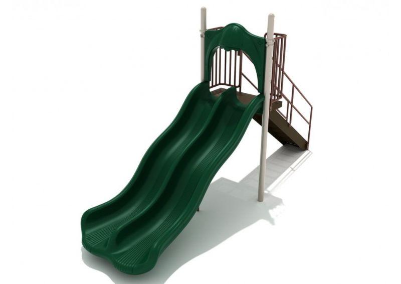5 Foot Double Wave Slide
