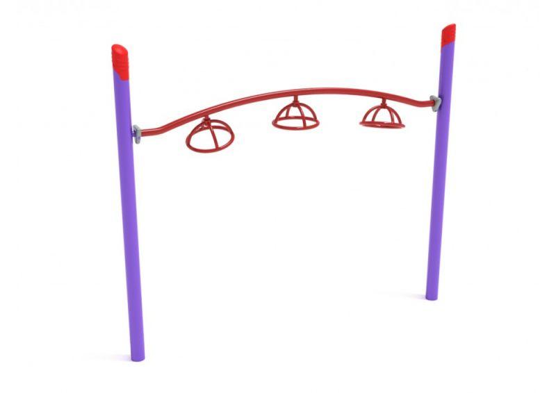Single Post 3 Wheel Overhead Spinner