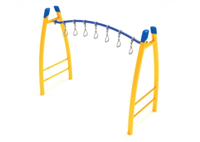 Curved Post Curved Overhead Swinging Ring Ladder