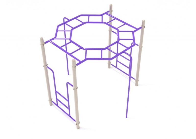 Octagon Rung Horizontal Ladder