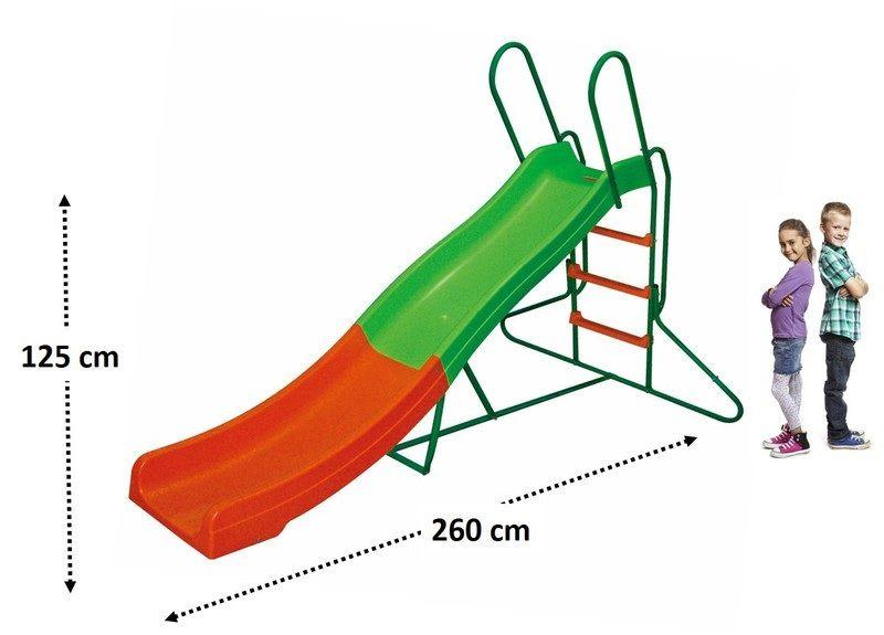 Wavy Slide / Water Slide: 8'