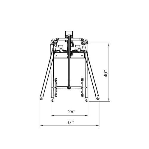 Electric Full Body Lift, 400Lb