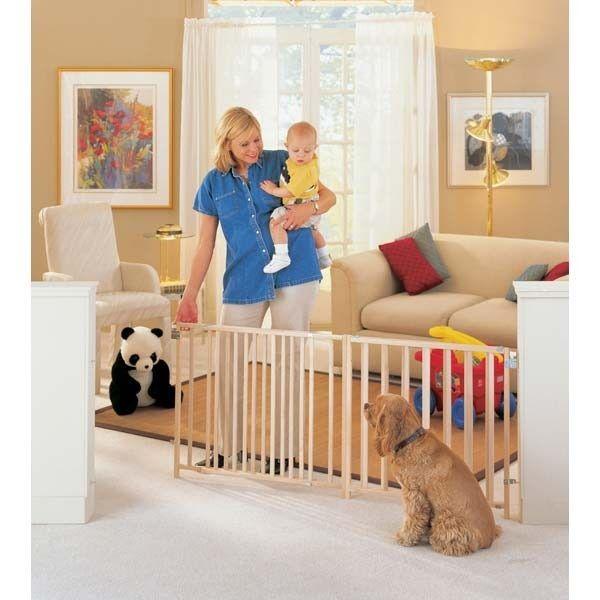 Extra-wide Swing Pet Gate
