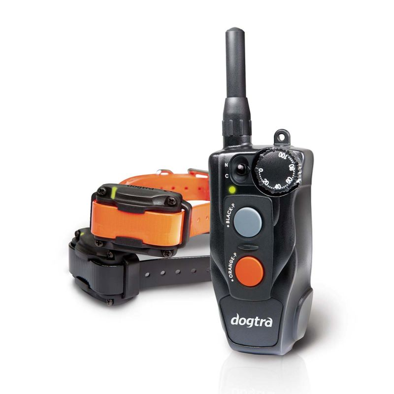 Compact 1/2 Mile Remote Dog Trainer 2 Dog System