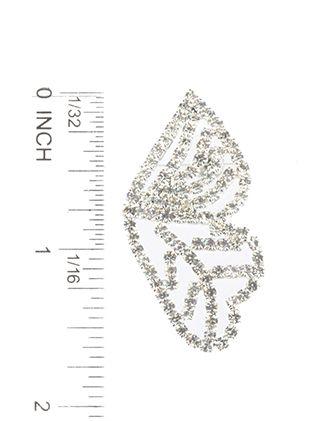 Rhinestone Butterfly Post Pin