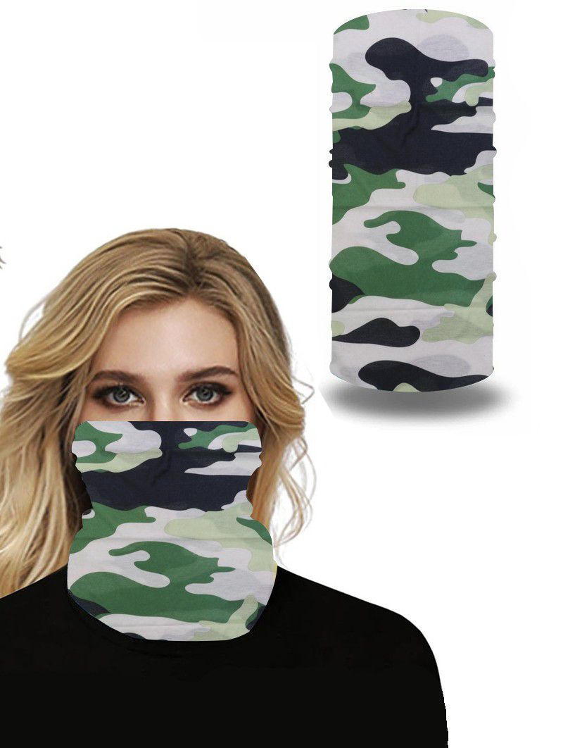 Neck Gaiter Camouflage Face Mask