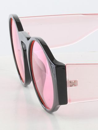 Round Lens Big Arm Protection Uv 400 Protection