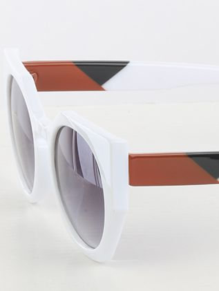 Round Lens Colorful Arm Uv 400 Protection