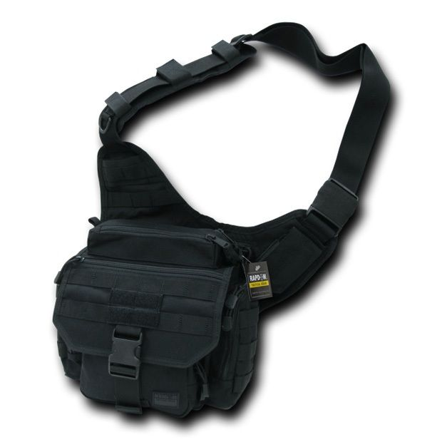 Tactical Field Bag, Black