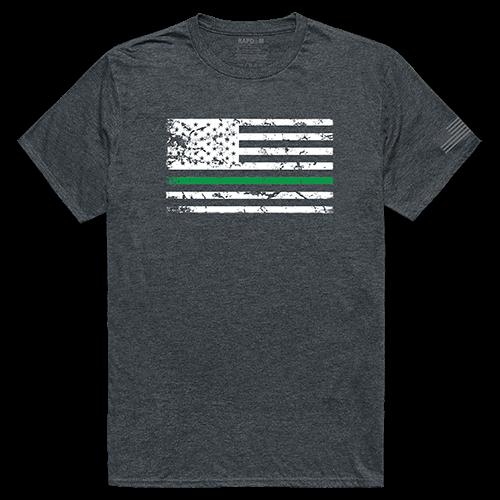 Tactical Graphic Tee, Tgl Flag, Hch, Xl