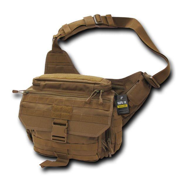 Tactical Messenger Bag, Coyote