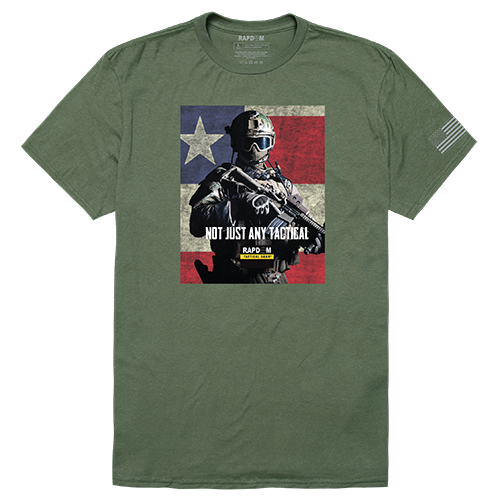Tactical Graphic T,Not Just Any, Olv, Xl