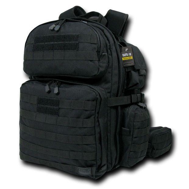 Tactical Rex (T-Rex) Assault Pack, Black