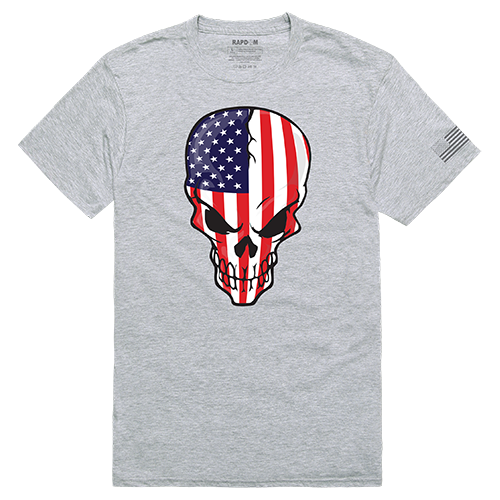 Tactical Graphic T, Skull Flag, Hgy, Xl
