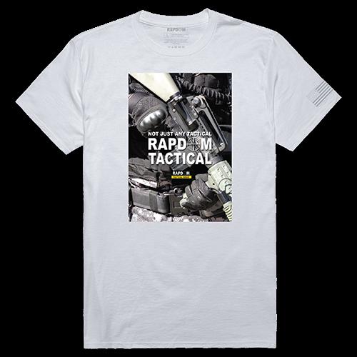 Tactical Graphic T, Rapdom 2, Wht, s