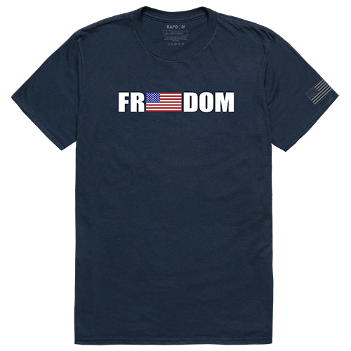 Tactical Graphic T, Freedom, Nvy, 2x