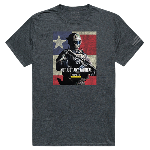 Tactical Graphic T,Not Just Any, Hch, 2x