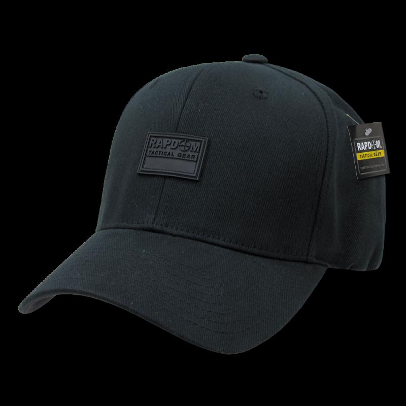 Rapdom Flex Caps, Black