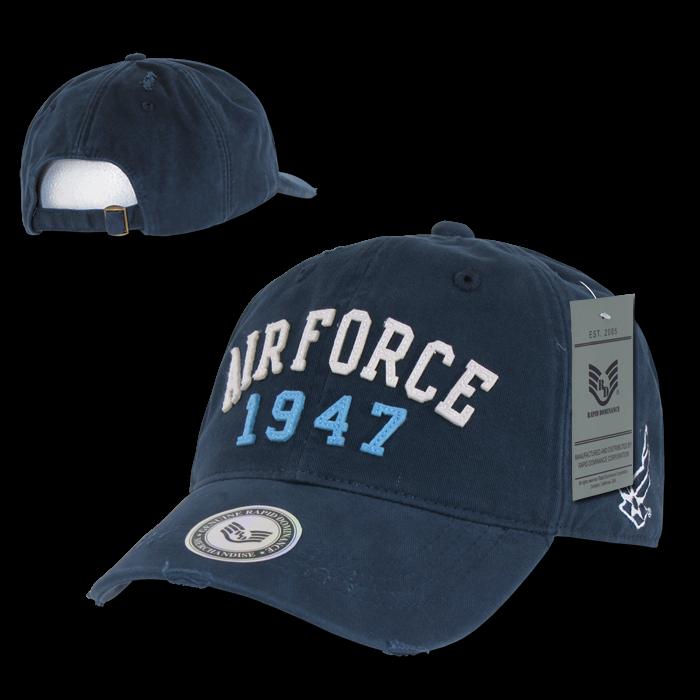 Rapid Dominance S80 Vintage Athletic Military Caps
