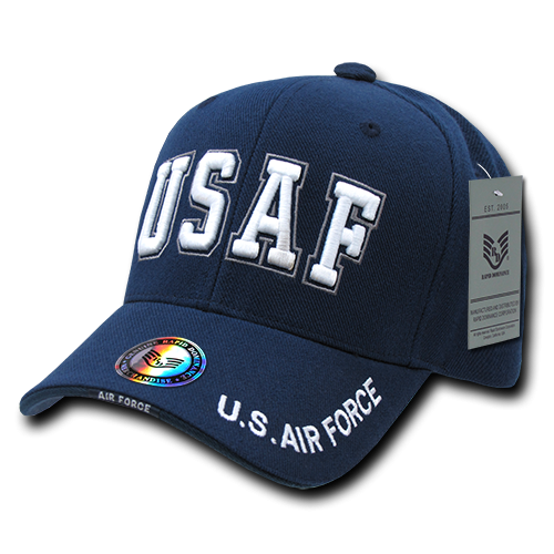 The Legend Military Caps, Usaf Txt, Navy