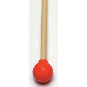 Mallets (pr.) - Med Rubber, Long Abs Handle