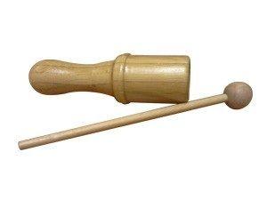 Bamboo Tone Block Small W/ Mallet