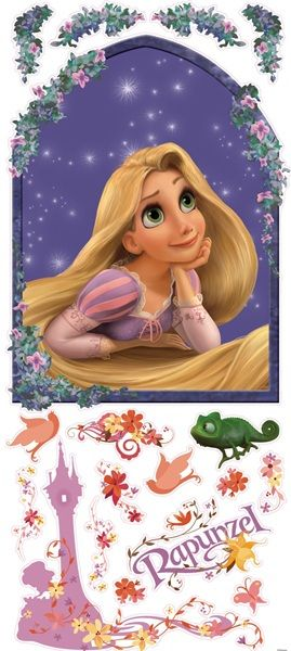 Tangled Giant Wall Decal