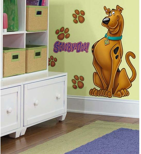 Scooby-Doo Giant Wall Decal