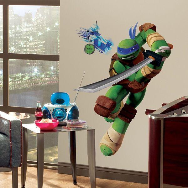 Teenage Mutant Ninja Turtles Leonardo Giant Wall Decal