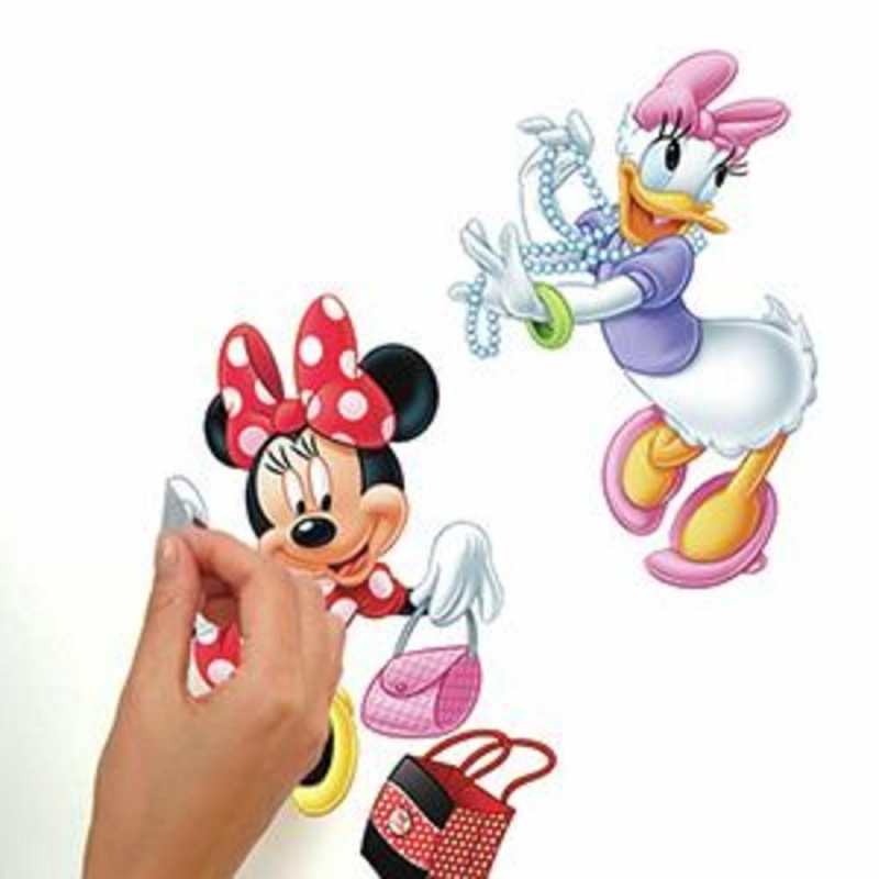 Minnie Loves To Shop Wall Decals