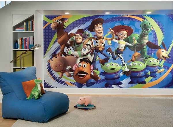 Toy Story 3 Xl Spray And Stick Wallpaper Mural