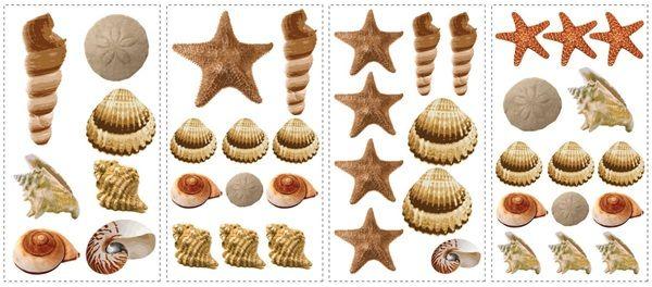 Seashells Wall Decals